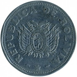 Moneta > 2bolivianų, 1991 - Bolivija  - reverse