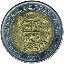 العملة > 2سولالجديد, 2010-2015 - بيرو  - obverse