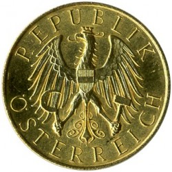 Moneda > 25chelines, 1926-1931 - Austria  - reverse