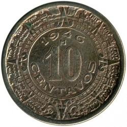 Münze > 10Centavos, 1936-1946 - Mexiko  - reverse