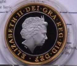 Moneda > 2libras, 1999 - Reino Unido  (Copa del Mundo de Rugby) - obverse