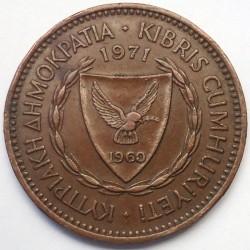 Münze > 5Mils, 1963-1980 - Zypern  - obverse