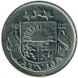 מטבע > 10סנטים, 1922 - לטביה  - obverse