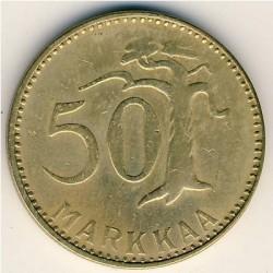 Münze > 50Mark, 1961 - Finnland  - reverse