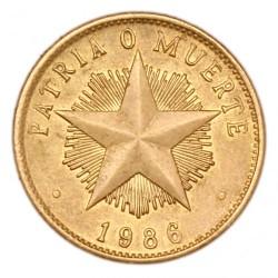 Монета > 1песо, 1983-1989 - Куба  - reverse