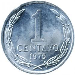 Монета > 1сентаво, 1975 - Чилі  - reverse