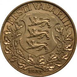 Moneta > 1korona, 1933 - Estonia  (10 Festiwal pieśni) - obverse