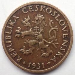 Кованица > 5хелера, 1931 - Чехословачка  - obverse