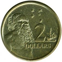 Moneda > 2dólares, 1999-2019 - Australia  - reverse