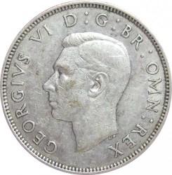 錢幣 > 2先令(弗羅林), 1937-1946 - 英國  - obverse