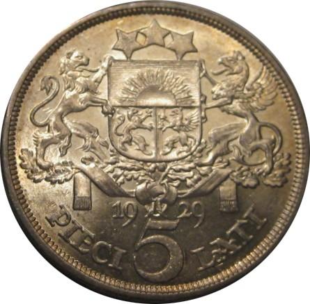 Монета 5 лат 1931 год серебро состав ирландские монеты