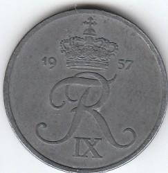 Moneda > 5öre, 1950-1964 - Dinamarca  - obverse