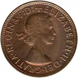 Moneda > 1penique, 1955-1964 - Australia  - obverse
