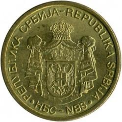 Монета > 2динара, 2009-2010 - Сърбия  - obverse