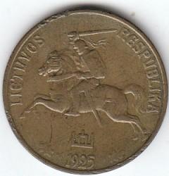 سکه > 50سنتا, 1925 - لیتوانی  - obverse