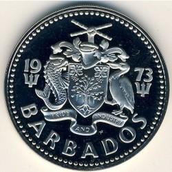 Кованица > 2долара, 1973-1984 - Барбадос  - obverse