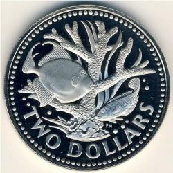 Кованица > 2долара, 1973-1984 - Барбадос  - reverse