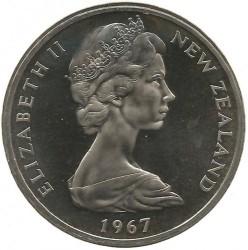 Монета > 1долар, 1967-1976 - Нова Зеландия  - reverse