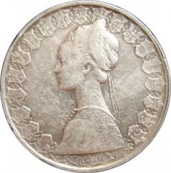 Moneta > 500lirów, 1958-2001 - Włochy  (Silver) - obverse