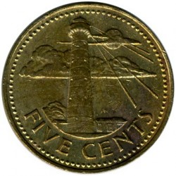 Münze > 5Cent, 1973-2007 - Barbados  - obverse