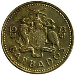 Münze > 5Cent, 1973-2007 - Barbados  - reverse