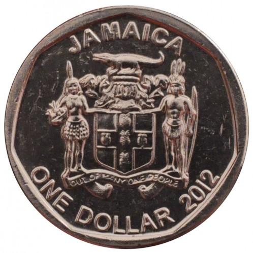 Coin 1 Dollar 2008 2017 Jamaica Obverse