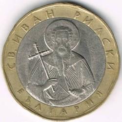 Coin > 1lev, 2002 - Bulgaria  - obverse