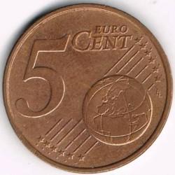 Münze > 5Eurocent, 1999-2013 - Niederlande  - reverse