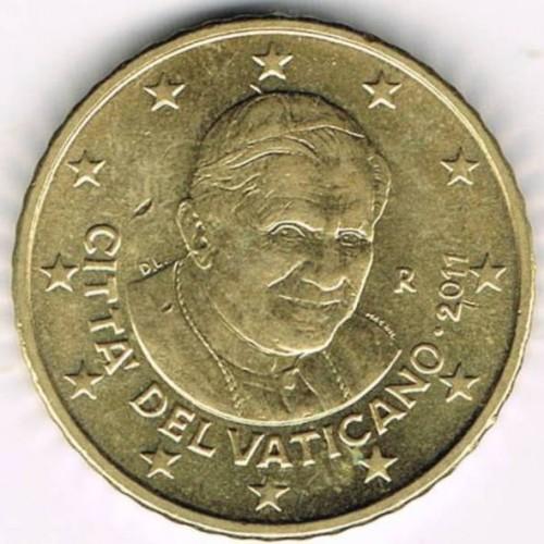 50 centesimi 2008 2013 vaticano km 387 catalogo for Moneta 50 centesimi