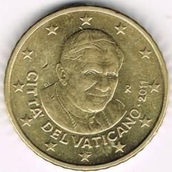 Minca > 50eurocentov, 2008-2013 - Vatikán  - obverse