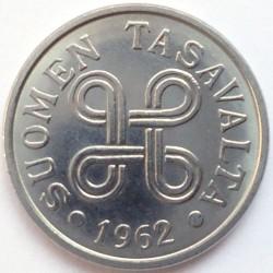 Münze > 5Mark, 1962 - Finnland  - obverse