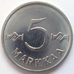 Münze > 5Mark, 1962 - Finnland  - reverse