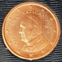 Moneda > 1céntimo, 2014-2016 - Ciudad del Vaticano  - obverse
