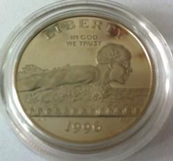 Moneta > ½dollaro, 1996 - USA  (XXVI Giochi olimpici estivi, Atlanta 1996 - Nuoto) - obverse