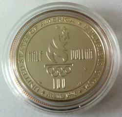 Moneta > ½dollaro, 1996 - USA  (XXVI Giochi olimpici estivi, Atlanta 1996 - Nuoto) - reverse