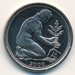 Münze > 50Pfennig, 2000 - Deutschland  - obverse
