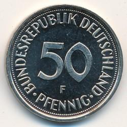 Münze > 50Pfennig, 2000 - Deutschland  - reverse
