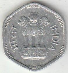 Монета > 3пайса, 1964-1967 - Индия  - reverse