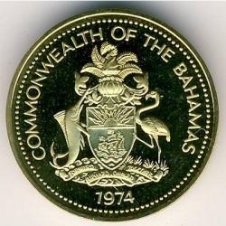 Монета > 1цент, 1974-1985 - Багамські острови  - obverse
