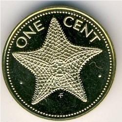 Монета > 1цент, 1974-1985 - Багамські острови  - reverse