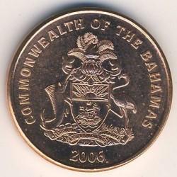 硬币  /> 1分, 2006-2007 - 巴哈马 - obverse