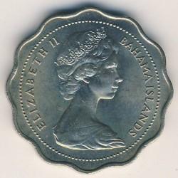 Монета > 10центів, 1966-1970 - Багамські острови  - obverse