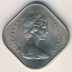 Moneda > 15cents, 1966-1970 - Bahames  - obverse