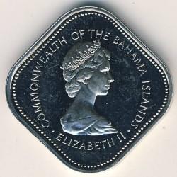 Монета > 15центів, 1971-1973 - Багамські острови  - obverse