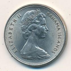 Münze > 25Cent, 1966-1970 - Bahamas  - obverse