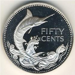 Кованица > 50центи, 1974-1980 - Бахами  - reverse