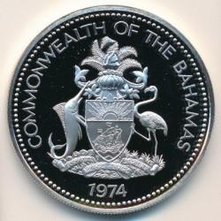 Кованица > 2долара, 1974-1980 - Бахами  - obverse