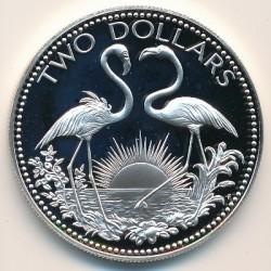 Кованица > 2долара, 1974-1980 - Бахами  - reverse