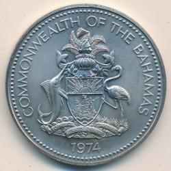 Münze > 5Dollar, 1974-1978 - Bahamas  - obverse