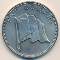 Münze > 5Dollar, 1974-1978 - Bahamas  - reverse